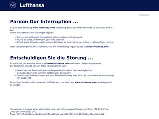 Lufthansa besuchen