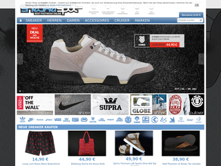 Sneakerspot besuchen