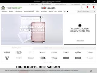 Koffer.com besuchen
