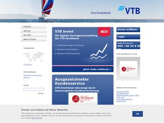 VTB Direktbank besuchen
