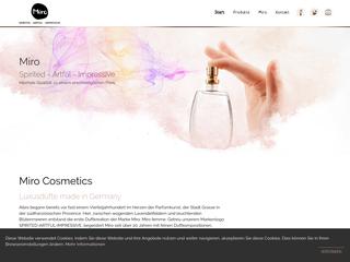 Miro Cosmetics besuchen