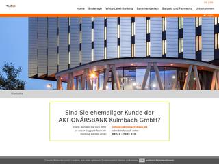 Aktionärsbank besuchen
