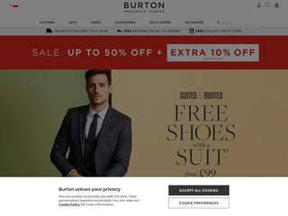 Burton besuchen