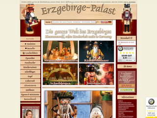 Erzgebirge-Palast besuchen