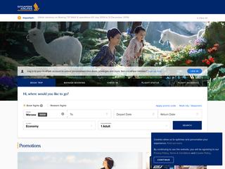 Singapore Airlines besuchen