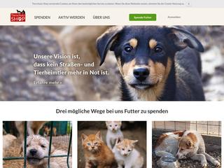 Tierschutz-Shop besuchen