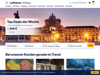 Lufthansa Holidays besuchen
