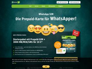 WhatsApp SIM besuchen