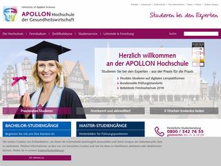 Apollon Hochschule besuchen