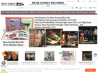 Bear Family Records Store besuchen