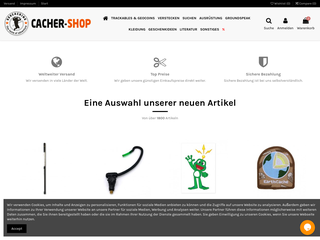 Cacher Shop besuchen