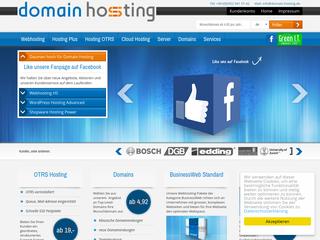 Domain-Hosting besuchen