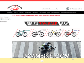 Fahrradtopshop besuchen