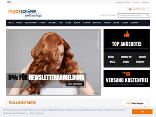 Frisoer Schaefer Online Shop besuchen