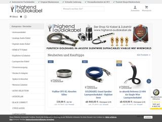 Highend Audiokabel besuchen