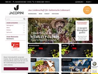 Jacopini-Weinhandel besuchen