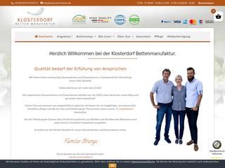 Klosterdorf-Betten besuchen