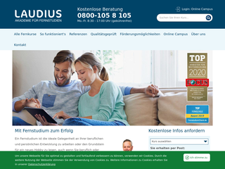 Studienwelt Laudius besuchen