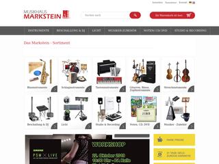 Musikhaus Markstein besuchen