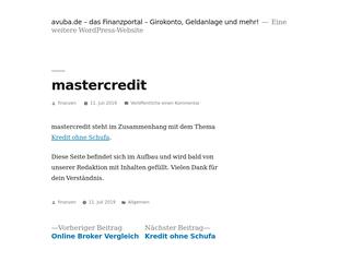 Mastercredit besuchen