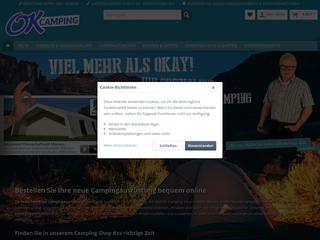 OK Camping Onlineversand besuchen
