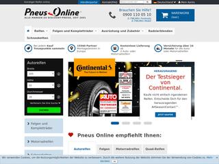 Pneus Online besuchen