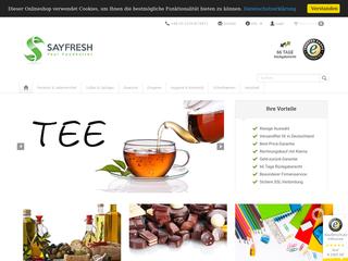 Sayfresh besuchen