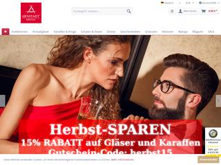 Arnstadt Kristall-Shop besuchen