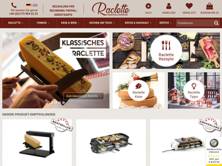 Raclette.de besuchen