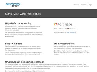 Serverway besuchen