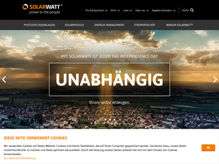Solarwatt besuchen