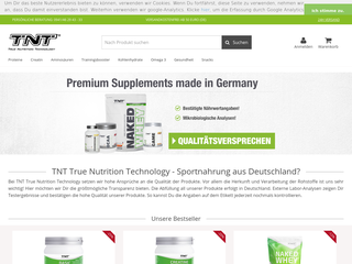 TNT-Supplements besuchen