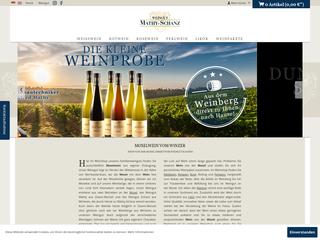Weingut Mathy Schanz besuchen
