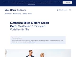 Miles & More Kreditkarte besuchen