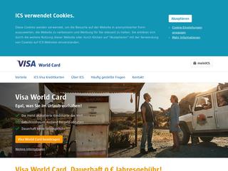 Visa World Card besuchen