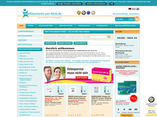 Medikamente per Klick besuchen