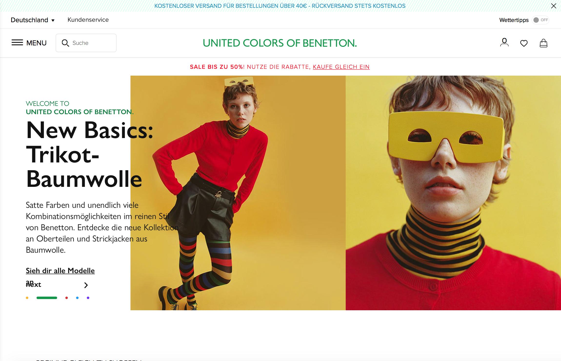 Benetton besuchen